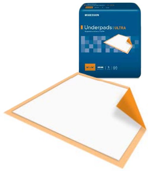 mckesson ultra disposable underpads heavy absorbency cdd