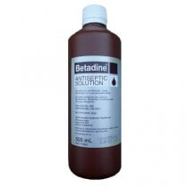 Betadine Antiseptic Prep Solution