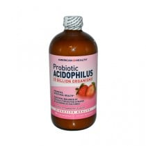 American Health Acidophilus Natural Strawberry Dietary Supplement