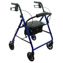 ProBasics Steel Rollator w/ 6-inch Wheels - (RLS6BG, RLS6BL)