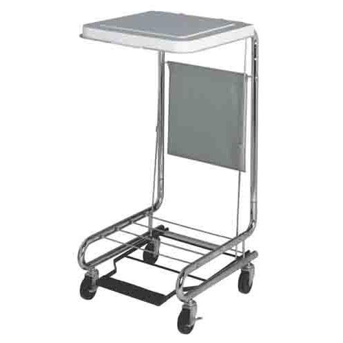 """Medline 18"""" Adjustable Steel Hamper Stand MDS80529"""