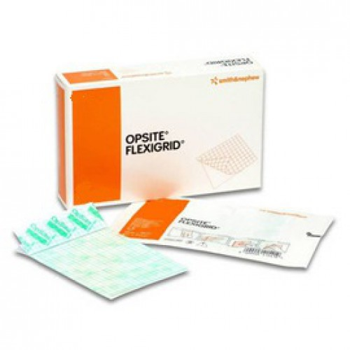 OpSite Flexigrid 2-3/8 x 2-3/4 Inch Transparent Film Dressing 66024628