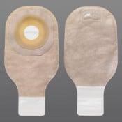 Premier Drainable Pouch Standard Wear - Pre-Cut with Flat Barrier Beige