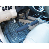Freedom Staff SYL-940 Portable Handicap Driving Aid Hand Controls In Use