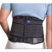 Actimove Back Support with 4 Stays, Adjustable Double-Layer Compression