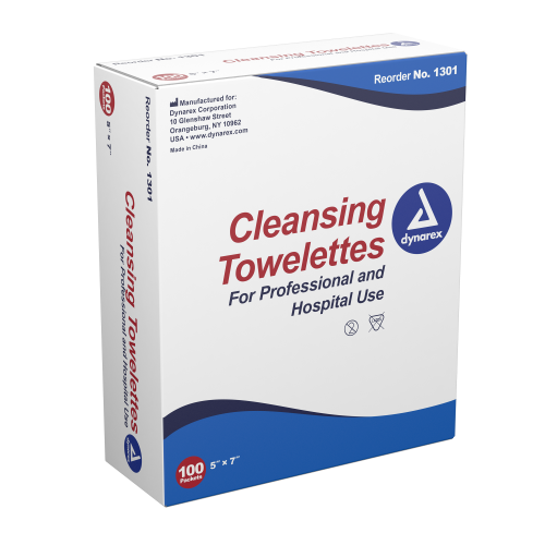 Benzalkonium Cleansing Towelette   Dynarex 1301
