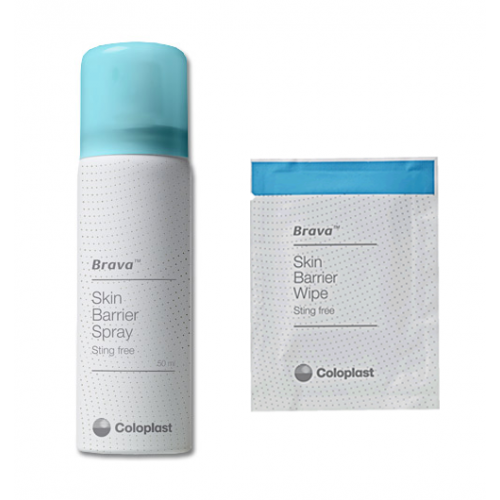 Brava Skin Barrier Spray and Wipes