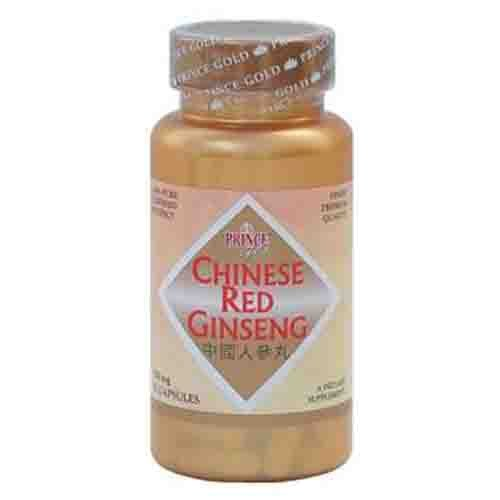 Gold Chinese Red Ginseng Energy Supplement