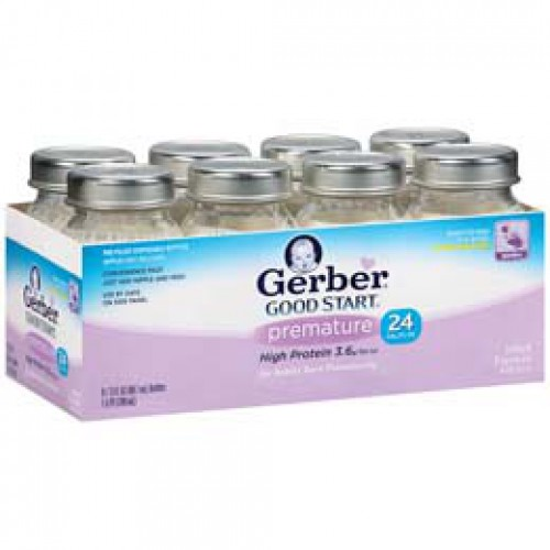 GERBER® GOOD START® premature Ready to Feed Bottles Infant Formula