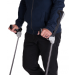 ErgoDynamic Forearm Crutches Use