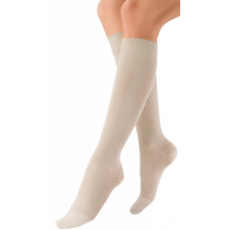 Jobst soSoft Women's Brocade Pattern Knee High Compression Socks CLOSED TOE 20-30 mmHg