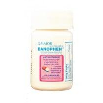 Banophen Allergy Relief Capsules