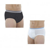 Classic Incontinence Briefs White M100W or Greay M100G