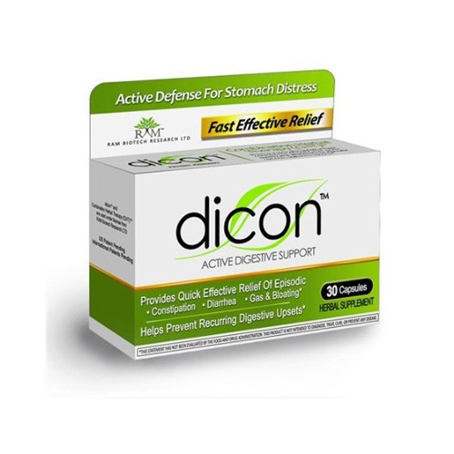 Dicon Active Digestive Herbal Supplement