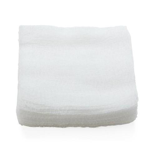 MedLine NON21424 Woven Gauze Sponges 4x4 Inch 12 Ply - Sterile