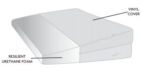 posey foam wedge cushion c9b