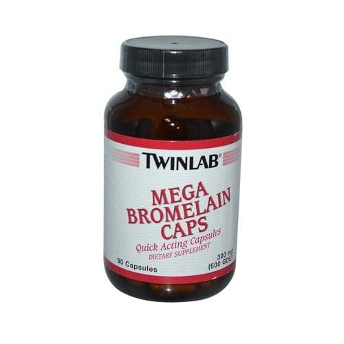 Twinlab Mega Bromelain Caps