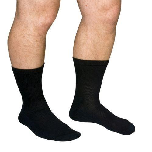 Diabetic Support Crew Sock, Closed Toe