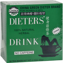Uncle Lee's China Green Dieters Tea Caffeine Free