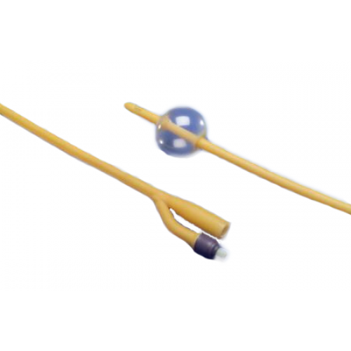 Hydrogel Coated Latex 2-Way Foley Catheters Standard Tip