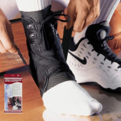 Ankle Stabilizer with Exoskeleton