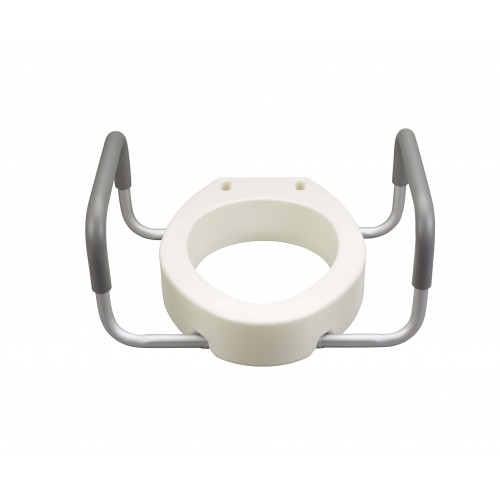 Drive Premium Toilet Seat Riser with Removable Arms