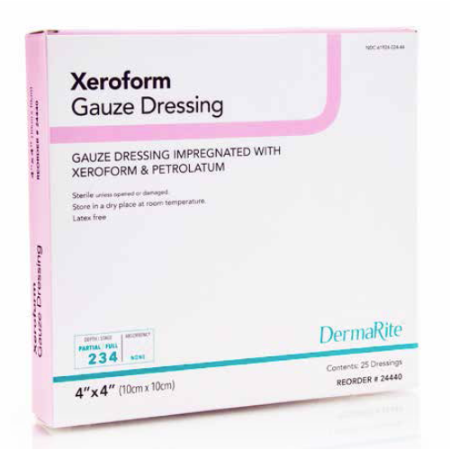 Xeroform Gauze Dressing with Petrolatum