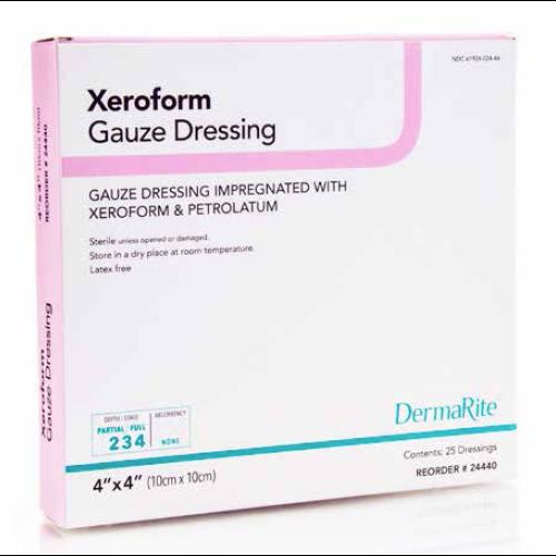 Xeroform Gauze Dressing with Petrolatum