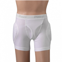 Posey Hipsters Male Fly Brief with High Durability Pads
