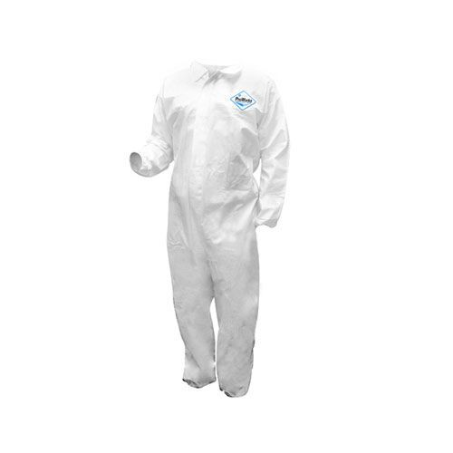 ProWorks Breathable Liquid & Particulate Coveralls, Without Hood