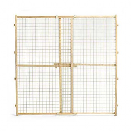 Midwest Wood Gate with Wire Mesh