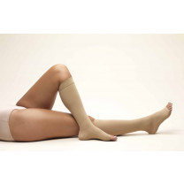 TRUFORM Anti-Embolism Knee High Support Stockings OPEN TOE 18 mmHg