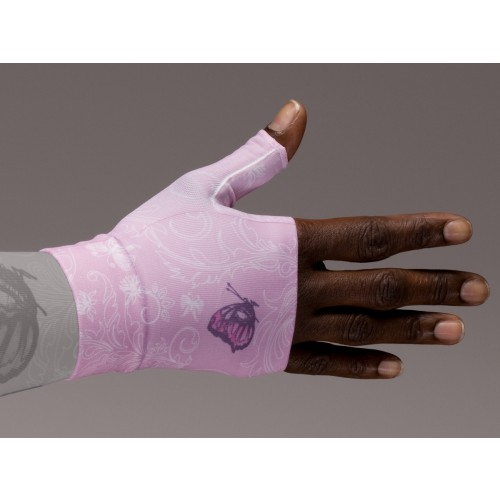 LympheDivas Pink Compression Gauntlet 30-40 mmHg