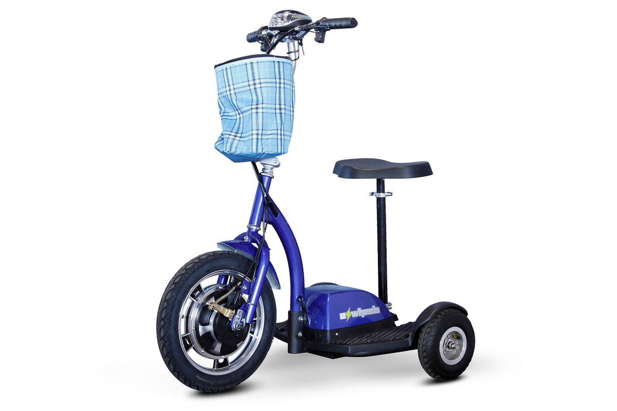 ewheels ew 18 stand n ride mobility scooter 31f