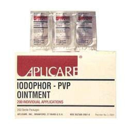 Aplicare Povidone-Iodine Paint Sponge Sticks