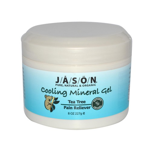 Jason Natural Products Tea Tree Pain Reliever Cooling Mineral Gel