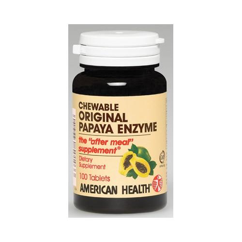 American Health Original Papaya Enzyme Dietary Supplement