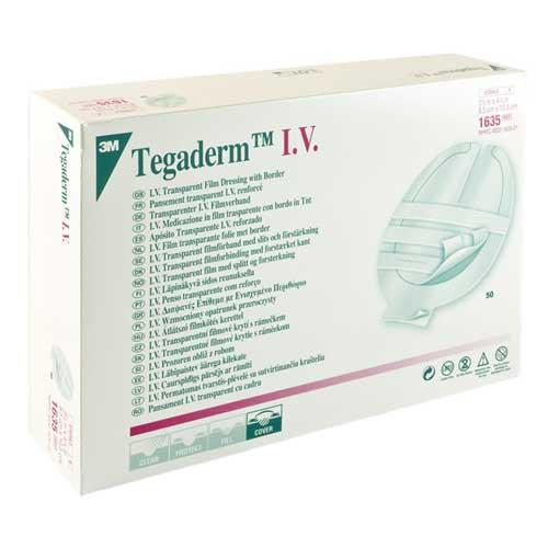 3M 1635 Tegaderm IV Transparent Dressing   3-1/2 x 4-1/4   Vitality Medical