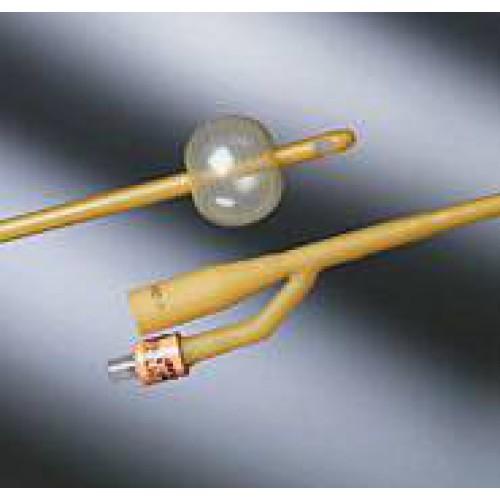 Bardex Ex Silicone Coated Latex 2 Way Foley Catheter W