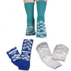 Slipper Socks Medi-Pak, Above the Ankle Skid Resistant Tread Sock