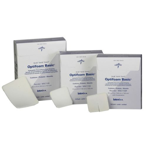 Optifoam Basic Dressings, Sterile