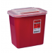 2 Gallon Red Multi-Purpose Sharps Container with Slide Lid 31142222