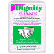 Dignity Briefmates Beltless Undergarments