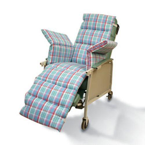 Geri-Chair Plaid Comfort Seat Cushion