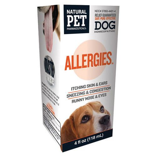 Homeopathic Natural Pet Dog Supplement - Allergies