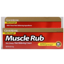 Goodsense Muscle Rub Pain Relieving Cream