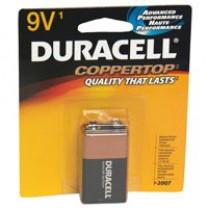 9V Duracell Coppertop Batteries