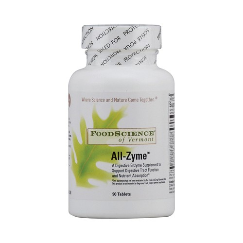 FoodScience of Vermont All Zyme Dietary Supplement