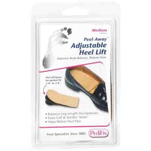 Peel-Away No Fastening Heel Lift