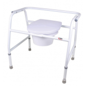 Extra Wide 3 in 1 Bariatric Commode